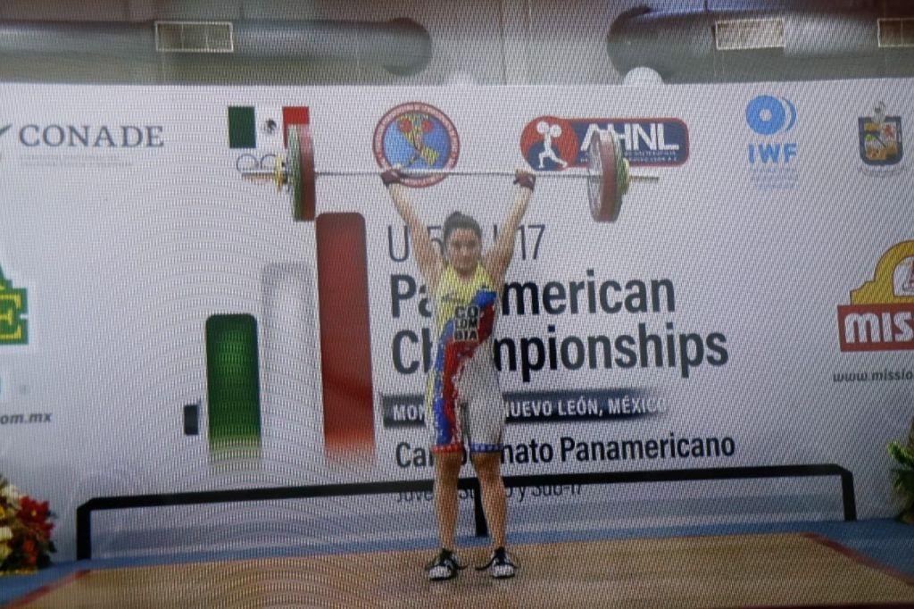 3 medallas de Oro para Ivana Cerquera