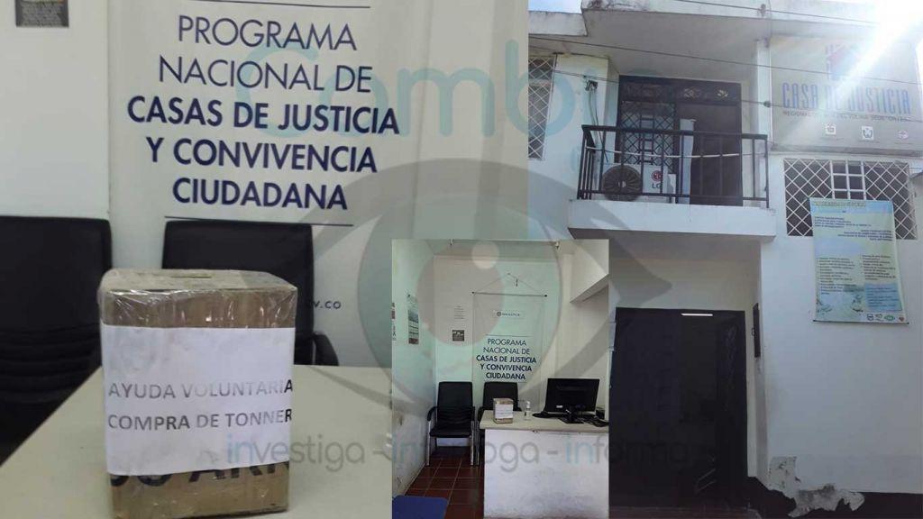 Comisaría de familia funciona con totuma en mano, en Ortega