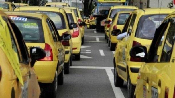 El amarillo significa peligro, una reflexión de los taxistas Ibaguereños