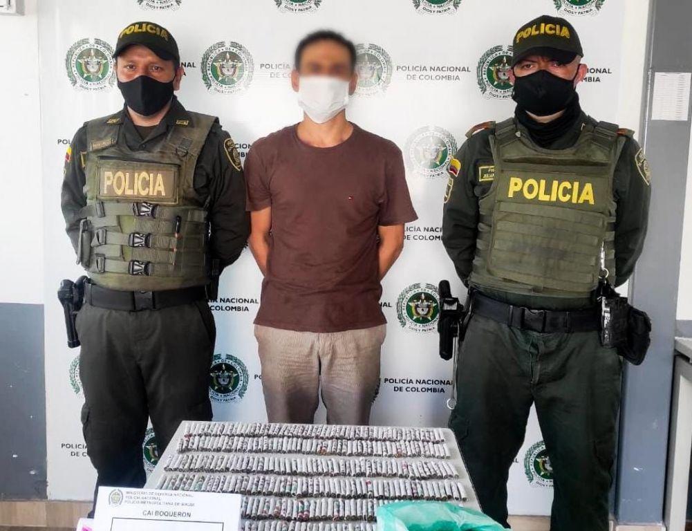 Cae distribuidor mayorista de marihuana del sur de Ibagué