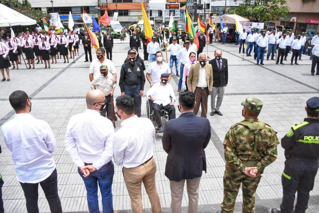 Gobernación hace homenaje a veteranos de guerra en el Tolima