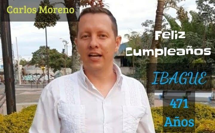 Feliz cumpleaños Ibague 471 años de historia