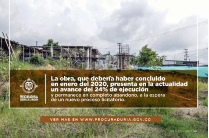 PGN llamó la atención a la Alcaldia de Ibagué por no  culminar Centro de Víctimas