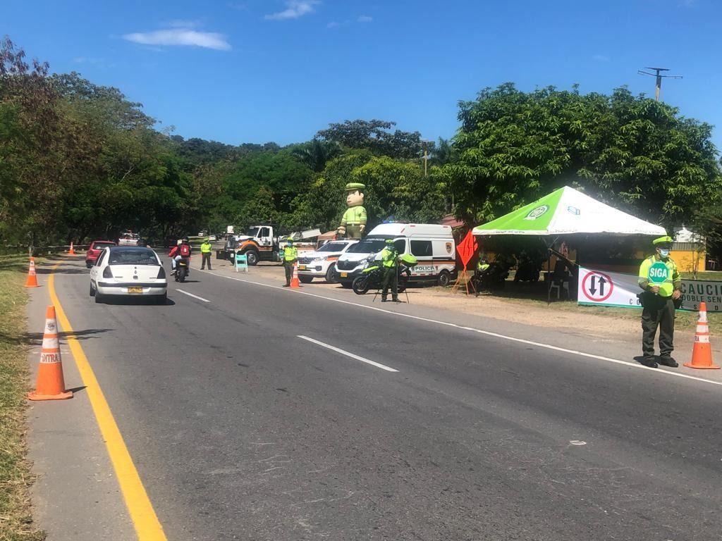 Policía implementó operación 'Éxodo' a viajeros durante este puente festivo.