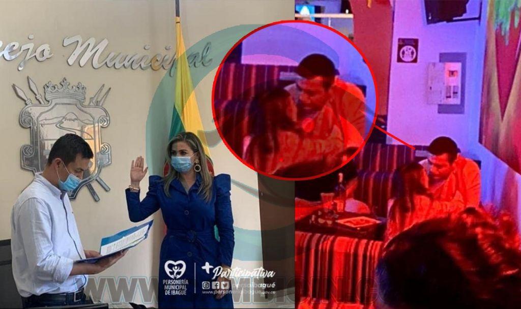 El o la concejal de Ibagué, que le tomó las fotos íntimas al presidente