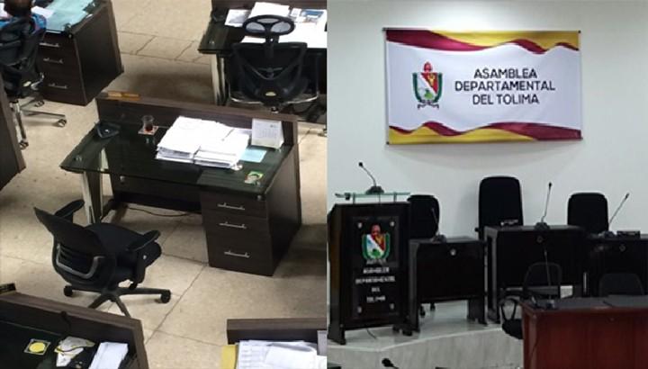 Concejales y diputados desfilan en la Procuraduría del Tolima