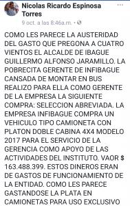 Copia 1: Mensaje original del abogado Nicolas Ricardo Espinosa. Cambioin