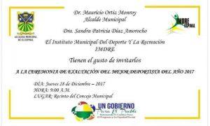 Invitación a la ceremonia. Cambioin